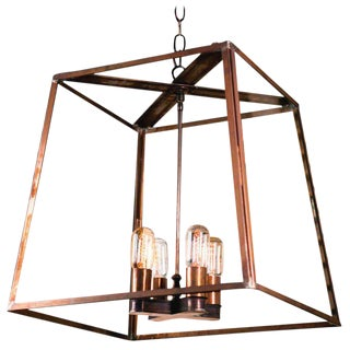 "Customizable ""Butler"" Hand-Made, American Lantern"