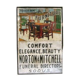 Vintage Modern Furniture Sign