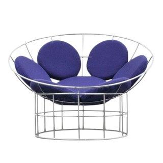 Verner Panton Purple Peacock Chair