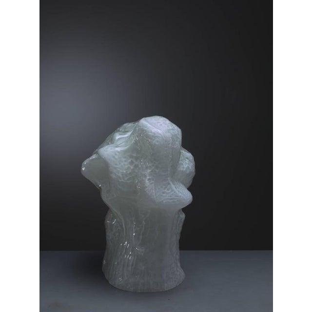 Image of Carlo Nason Sculptural Murano Glass Table Lamp by Mazzega, Italy, 1960s