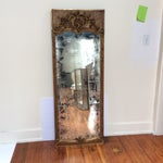 Image of Antique French Giltwood Mirror