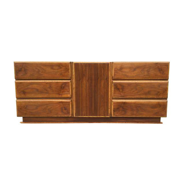 Image of 1960's Lane Modern 9 Drawer Dresser