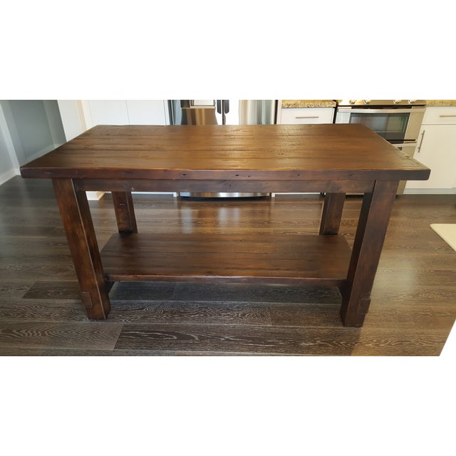 Restoration Hardware Salvaged Wood Dining Table Chairish