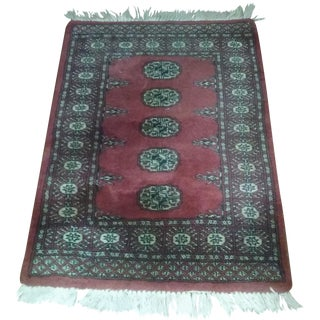 Authentic Vintage Persian Wool Rug - 2′2″ × 3′