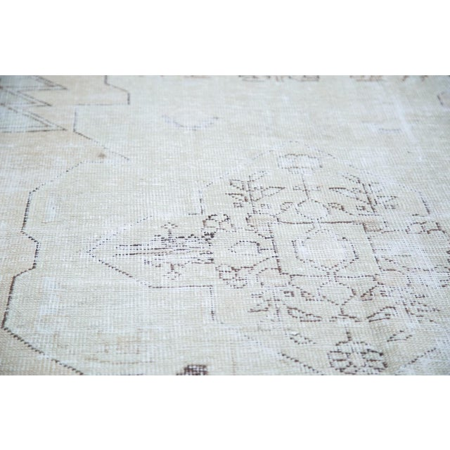 "Image of Distressed Oushak Rug - 4'8"" X 7'5"""