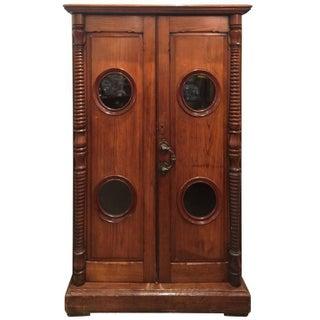 19th Century Yacht Cabinet
