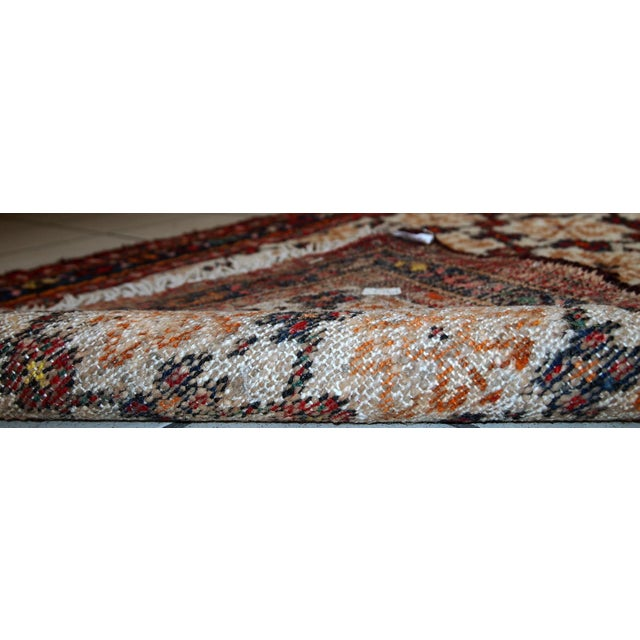 Image of 1960s Hand Made Vintage Persian Hamadan Runner - 2′7″ × 6′9″