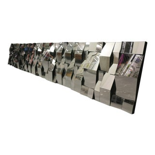18-Panel Mirrored Wall Installation