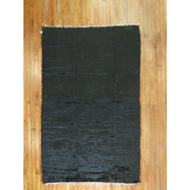 Vintage Mohair Rug - 4'7'' x 6'9'' - Image 2 of 9