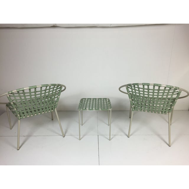 Mid-Century Green Hoop Chairs - A Pair - Image 3 of 8