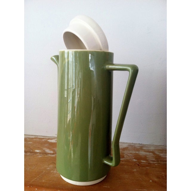 Image of Vintage 1960s Ceramic Pitcher