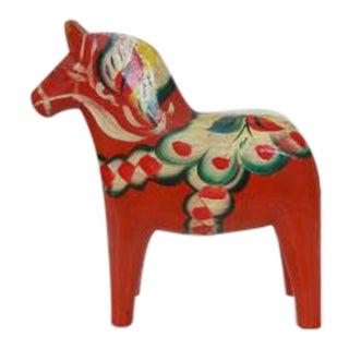 Vintage Hand Painted Dala Swedish Horse