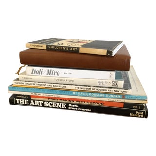 Mid-Century Historic Art Books - Set of 11