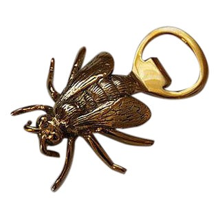 Brass Royal Bee Bottle Opener