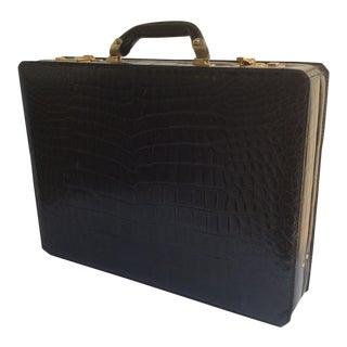 Dunhill Black Alligator Case