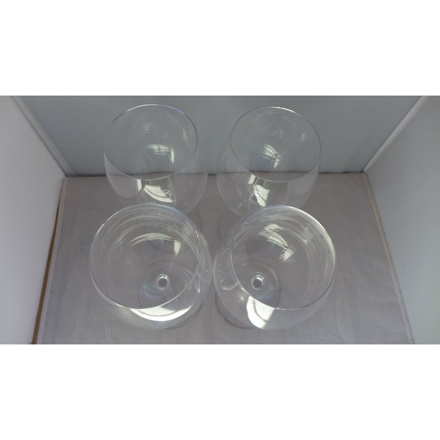 Waterford Clear Crystal Wine Glasses - Set of 4 - Image 5 of 7