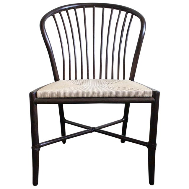 McGuire Ulloa Dining Chair in Dark Tobacco - Image 1 of 6
