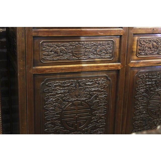 Mid 20th Century Asian Armoire - Image 7 of 8