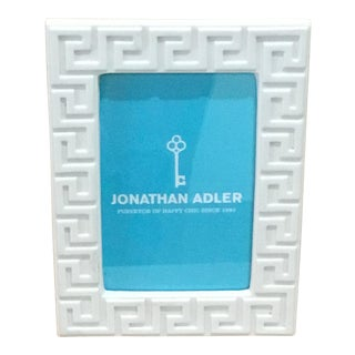 Jonathan Adler Charade Greek Key Picture Frame