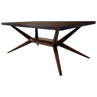 Faceted Romweber Dining Table by Harold Schwartz