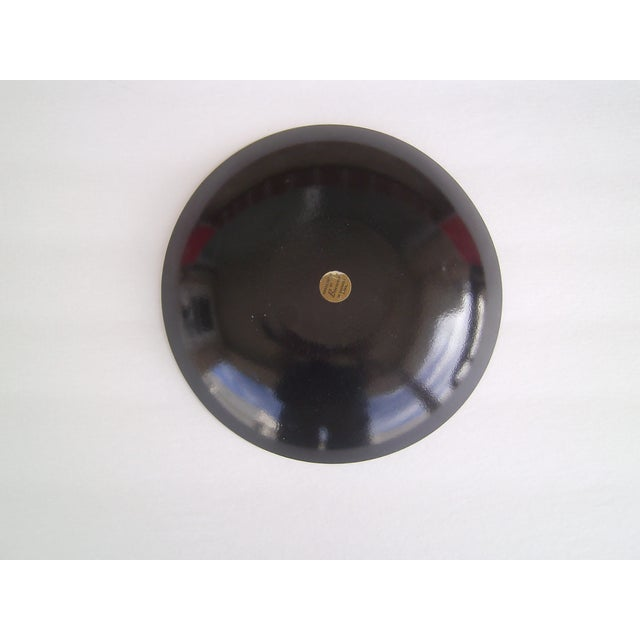 Mid-Century Copper Enamel Bowl/ Bovano - Image 3 of 5