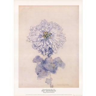 "Piet Mondrian ""Chrysanthemum"" 1996 Poster"