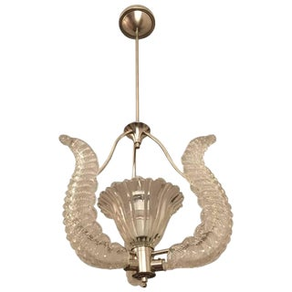 Mid-Century Barovier and Toso Chandelier