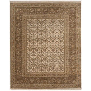 Hand-Knotted Indo-Persian Rug- 8'x 10'
