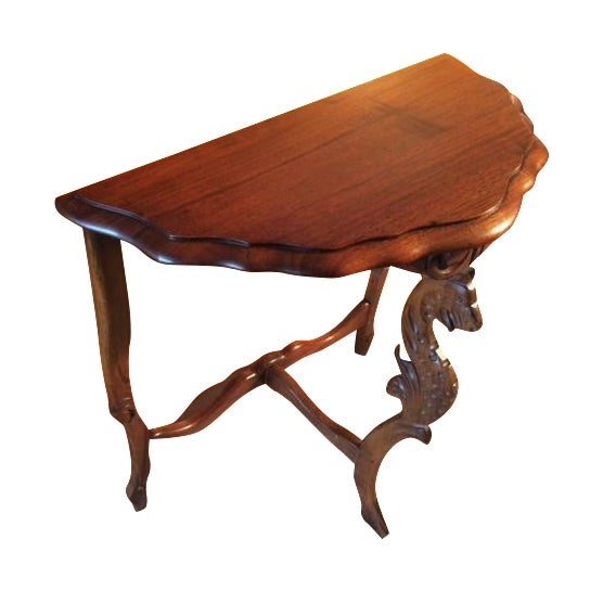 Victorian Carved Leg End Table - Image 1 of 5