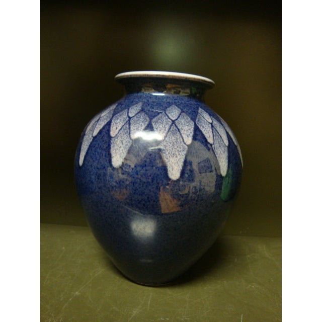 Signed Verhoeks Studio Pottery Vase - Image 3 of 6