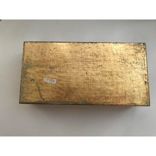 Vintage Italian Florentine Tissue Box - Image 5 of 5