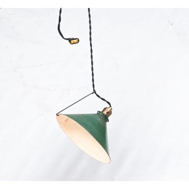 Adjustable Vintage Pendant Lights - Set of 3 - Image 5 of 7