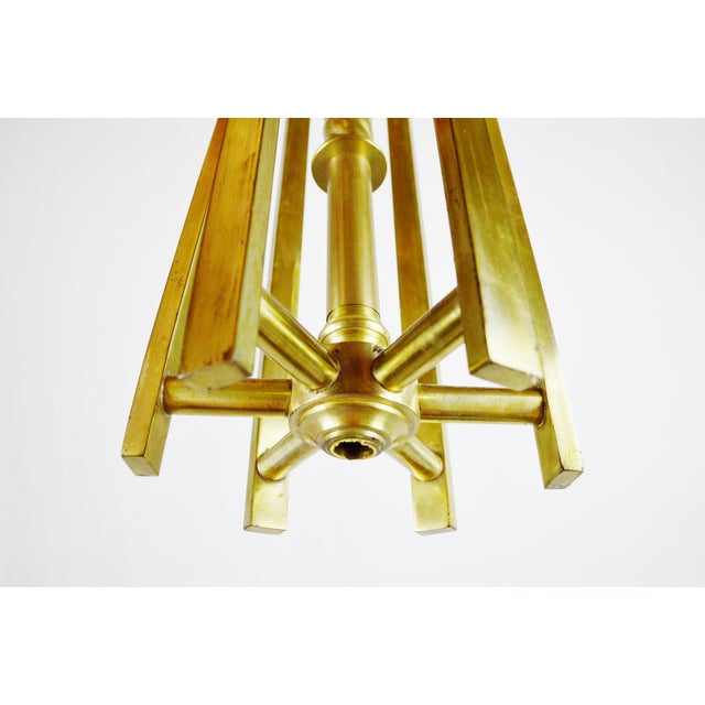 Chandelier body light collections light ideas art deco brass chandelier body chairish art deco brass chandelier body image 10 of 11 audiocablefo aloadofball Image collections
