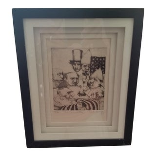 Charles Bragg Lithograph, Signed and Numbered
