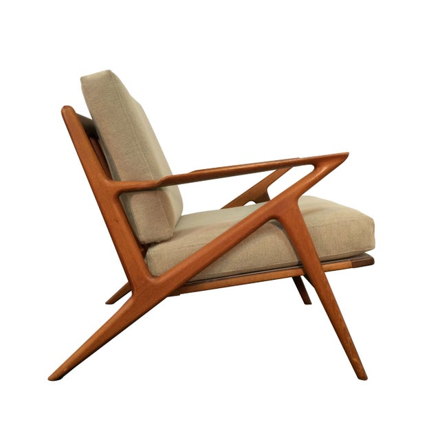 Poul jensen for selig z lounge chair in teak chairish - Selig z chair for sale ...
