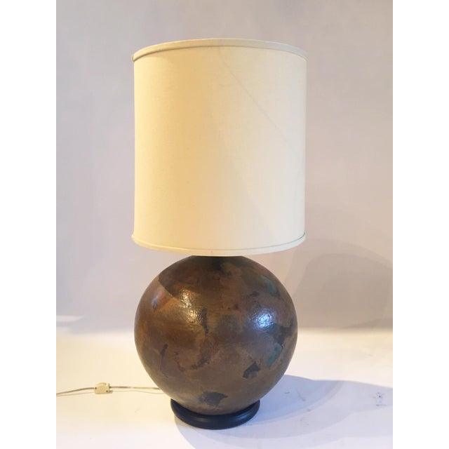 Image of Mid-Century Studio Pottery Table Lamp