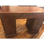 Image of Vintage Pine Kneehole Desk