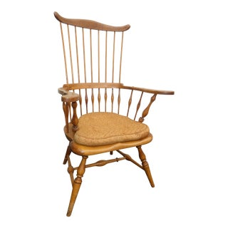 Jean of Topanga Vintage High Banister Windsor Chair Farmhouse Chic