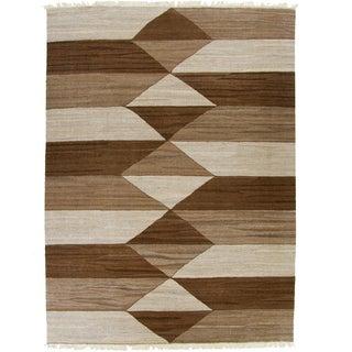 Rug & Relic Kilim Flat Weave Rug - 5'9 X 7'10