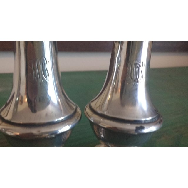 Image of Sterling Salt & Pepper - A Pair