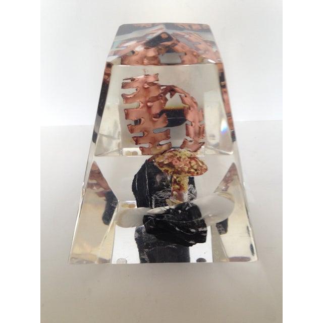 Lucite Sculpture - Image 3 of 6