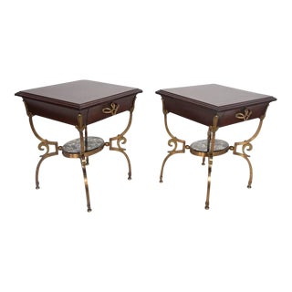 Pair of Side Tables Nightstands Attributed to Arturo Pani