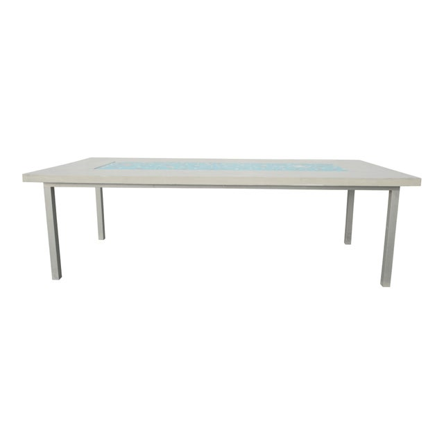Organic Seashells Modern Dining Table - Image 7 of 7