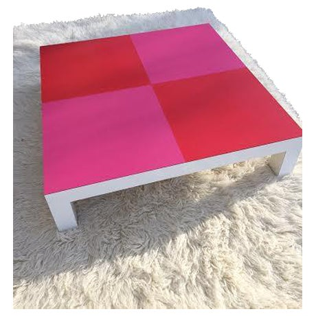 Image of One of a Kind Custom Designed MCM Coffee Table