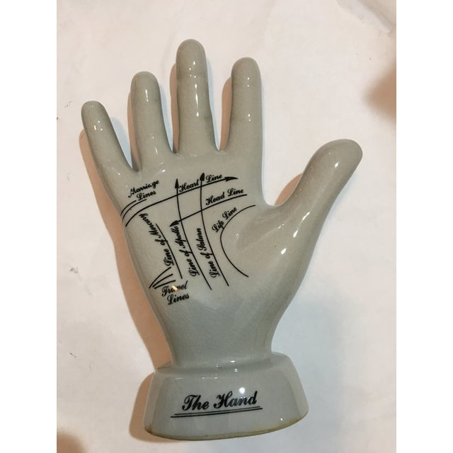 Image of English Palmistry Ceramic Hand