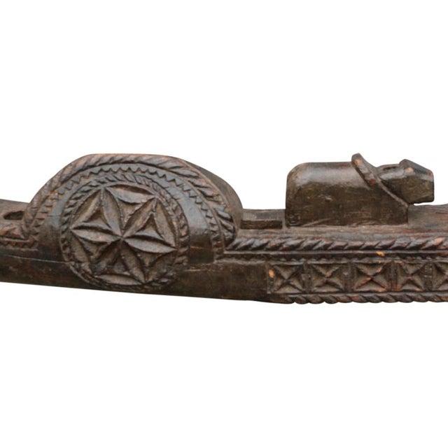 Image of Tribal Carved Yoke