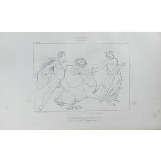 1840 Antique French Mythological Print