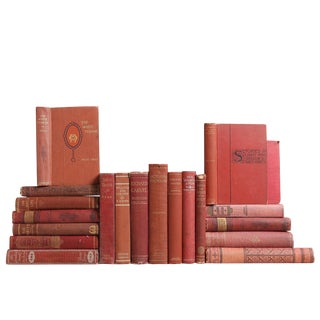 Antique Ruby Novel Book Collection, S/20