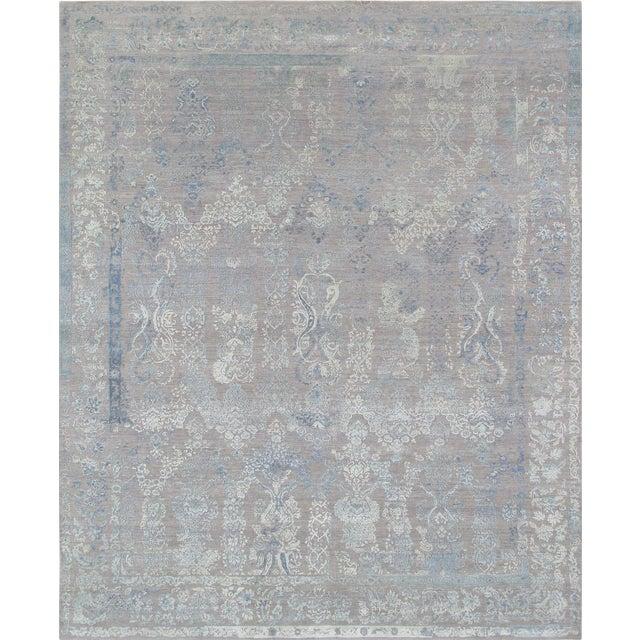 "Pasargad Transitiona Silk & Wool Rug- 8'11"" x 12' - Image 1 of 4"