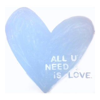 'Love Is All You Need' Original Painting by Linnea Heide